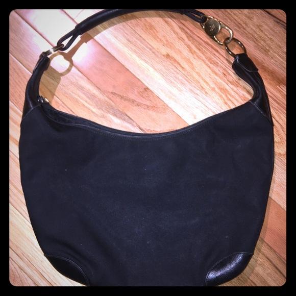 """05edbef462642 Gucci Handbags - Gucci Old School """"G"""" Canvas Shoulder Bag"""